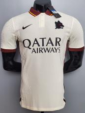 20-21 Roma Away Player Version Soccer Jersey