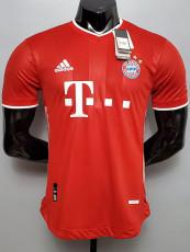 20-21 Bayern Home Player Version Soccer Jersey