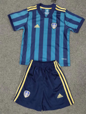 20-21 Leeds United Away Kids Soccer Jersey