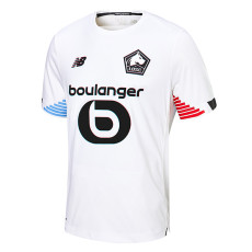 20-21 Lille Third White Fans Soccer Jersey