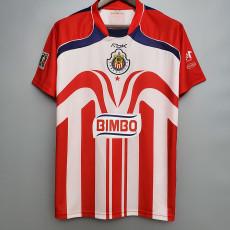 2006-2007 Chivas Home Retro Soccer Jersey