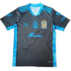 20-21 Tigres UANL Black Goalkeeper Soccer Jersey
