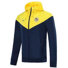 20-21 Club America Blue Yellow Windbreaker