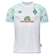 20-21 Bremen Away White Fans Soccer Jersey