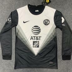 2020 Club America GK Black Long Sleeve Soccer Jersey