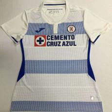 20-21 Cruz Azul Away White Women Soccer Jersey
