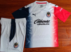 20-21 Chivas Away Kids Soccer Jersey