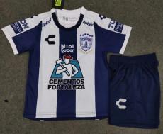 20-21 Pachuca Home Kids Soccer Jersey