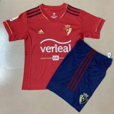 20-21 Osasuna Home Kids Soccer Jersey