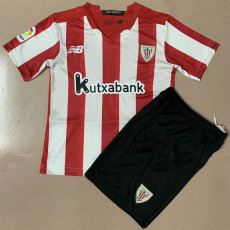 20-21 Bilbao Home Kids Soccer Jersey