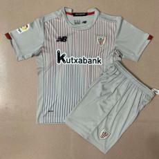 20-21 Bilbao Away Kids Soccer Jersey
