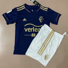 20-21 Osasuna Away Kids Soccer Jersey