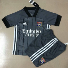 20-21 Lyon Away Kids Soccer Jersey