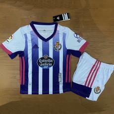 20-21 Valladolid Home Kids Soccer Jersey