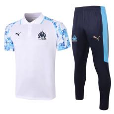 20-21 Marseille White Polo Tracksuit