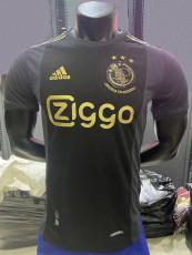 20-21 Ajax 50th Anniversary Black Player Version Soccer Jersey