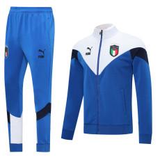 20-21 Italy White Blue Jacket Tracksuit