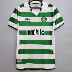 2001-2003 Celtic Home Retro Soccer Jersey