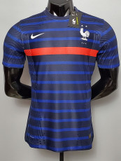 2020 France Home Player Version Soccer Jersey