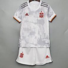 2020 Spain Away Kids Soccer Jersey