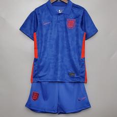 2020 England Blue Away Kids Soccer Jersey