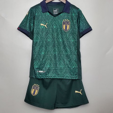 2020 Italy Third Kids Soccer Jersey