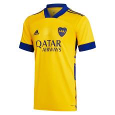 20-21 Boca Juniors Away Yellow Fans Soccer Jersey