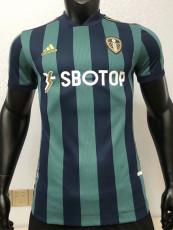 20-21 Leeds United Away Player Version Soccer Jersey