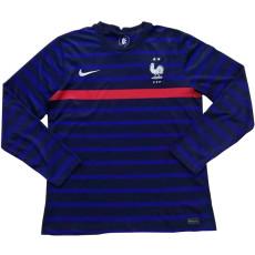 2020 France Home Long Sleeve Soccer Jersey