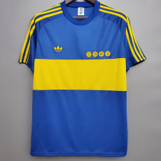 1981 Boca Juniors Home Retro Soccer Jersey
