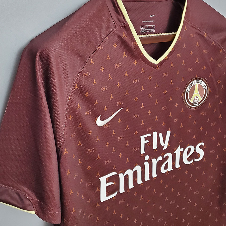 US$ 19.00 - 2006-2007 PSG Paris Away Retro Soccer Jersey - m.kkgol.com