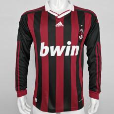 2009-2010 ACM Home Long Sleeve Retro Soccer Jersey