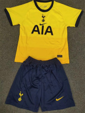 20-21 TOT Away Yellow Kids Soccer Jersey