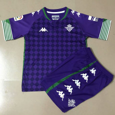 20-21 Real Betis Home Kids Soccer Jersey