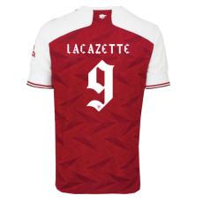Lacazette #9  ARS Home 1:1 Fans Soccer Jersey 2020/21 UEFA Font (欧联字体)