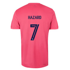 HAZARD #7 RMA 1:1 Away Pink Fans Soccer Jersey 2020/21