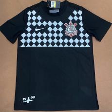 2020 Corinthians Limited Edition Black Soccer Jersey