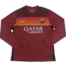 20-21 Roma Home Long Sleeve Soccer Jersey