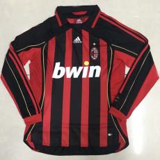 2006-2007 ACM Home Long Sleeve Retro Soccer Jersey
