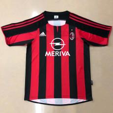 2003-2004 ACM Home Retro Soccer Jersey