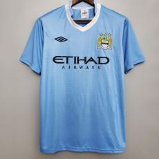 2011-2012 Man City Home Retro Soccer Jersey