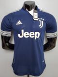 20-21 JUV Away Player Version Soccer Jersey