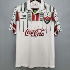 1989-1990 Fluminense Away Retro Soccer Jersey