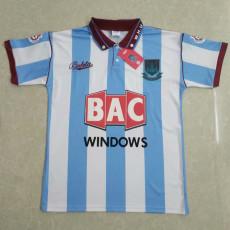 1991-1992 West Ham Away Retro Soccer Jersey