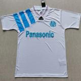 1992-1993 Marseille Home Retro Soccer Jersey