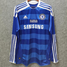 2011-2012 CHE Home Retro Long Sleeve Soccer Jersey(带决赛字)