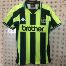 1998-1999 Man City Away Retro Soccer Jersey