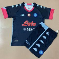 20-21 Napoli Third Kids Soccer Jersey