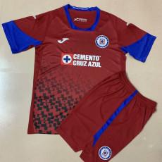 20-21 Cruz Azul Third Kids Soccer Jersey