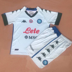 20-21 Napoli Away Kids Soccer Jersey